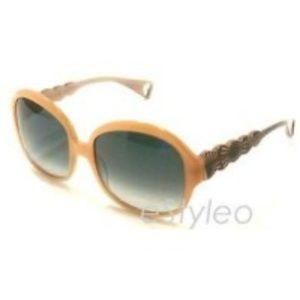 Betsey Johnson Sunglasses Square Harajuku Peach